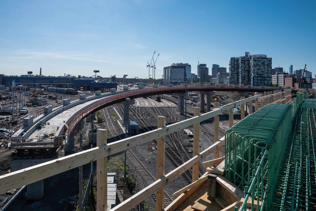 Green Line Extension Construction