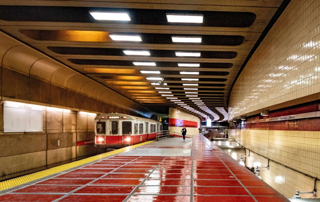 Red Line Station Interior