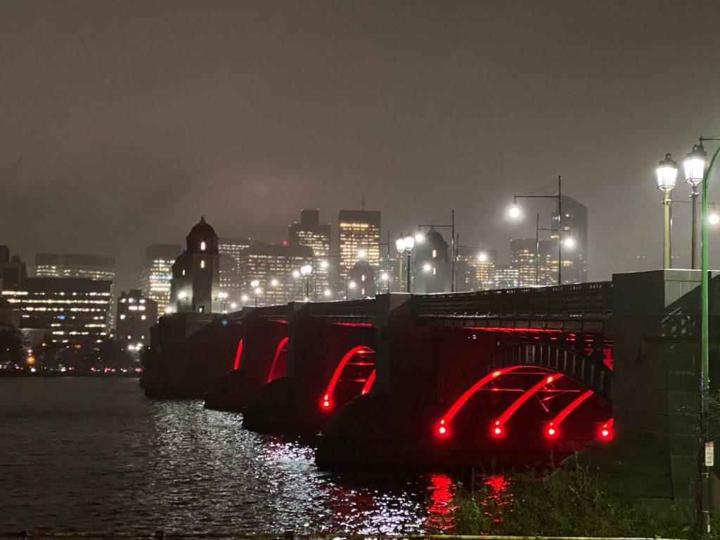 Foggy View of Longfellow Bridge